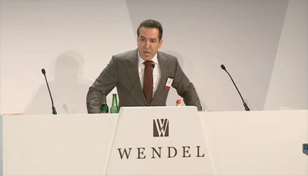 Issam Darwish Speaks at the Wendel Investors Forum